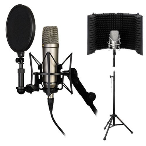 Rode Complete Vocal Recording Solution with Acoustic Reflection Filter
