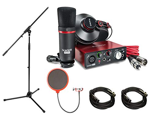 Focusrite Scarlett Solo Studio Pack 2nd Gen & Recording Bundle