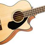 Fender CB-60SCE Beginner Acoustic-Electric Beginner Bass Guitar – Natural 2