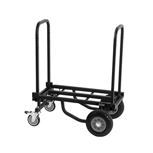 On-Stage Folding Multi-Cart/Hand Truck/Dolly with Expandable Telescoping Frame