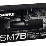 Shure SM7B Cardioid Dynamic Microphone 1