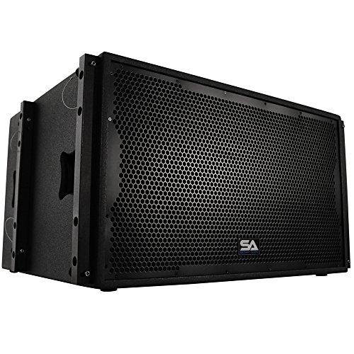 Seismic Audio Premium Passive 2 x 15 Line Array Subwoofer