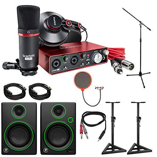 Focusrite Scarlett 2i2 Studio USB Audio Interface & Recording Bundle
