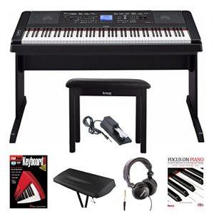 Yamaha Weighted Keys Piano with Knox Piano Bench