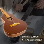 Limited Edition ~ WINZZ Hawaiian Weissenborn Classic Acoustic Lap Steel Guitar for Enthusiasts 1