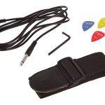 RockJam 6 ST Style Electric Guitar Super Pack with Amp, Gig Bag, Strings, Strap, Picks, Right, Black (RJEG02-SK-BK) 2
