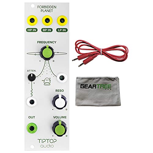 Tiptop Audio Forbidden Planet Analog Filter Eurorack Module