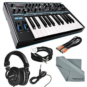 Novation Bass Station II Monophonic Analog Synthesizer and Bundle