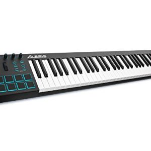 Alesis V61 | 61 Key USB MIDI Keyboard Controller with 8 Backlit Pads