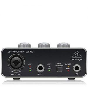 BEHRINGER Audio Interface, Black, 1-Channel
