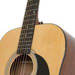 Epiphone FT-100 Acoustic Guitar Player Pack (Gigbag, Strap, Picks, and Tuner) – Natural 3