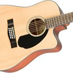 Fender CD-60SCE Right Handed 12 String Acoustic-Electric Guitar – Dreadnaught Body – Natural 1