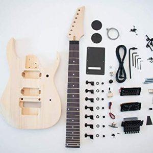 DIY Electric Guitar Kit - 7 string Build Your Own Guitar