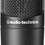 Audio-Technica AT2035 Cardioid Studio Condenser Microphone with Knox Gear Pop Filter & Boom Arm 2