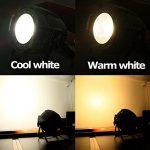 Tengchang 200W LED Stage Par Light COB Cool & Warm White 2 in1 PAR64 DMX DJ Lighting 3