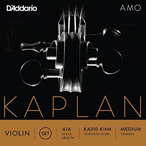 D'Addario Kaplan Amo Violin String Set, 4/4 Scale