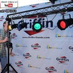 Triangle Truss Segment Extension by Griffin | 5Ft Extra Trussing Section for DJ Lighting System Stand | Mount Light Cans & Sound Effects for Pro Audio Equipment Gear | Parties, Live Gigs & Stage 2