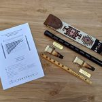 ARMENIAN DUDUK PRO from Apricot Wood, 2 Professional Reeds, National Leather Case, Playing Instruction and Free Gift Flute, ARMENIAN Handmade Woodwind Instrument, Oboe, Balaban 3