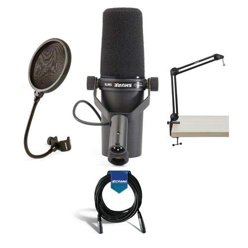 Shure Cardioid Dynamic Studio Vocal Microphone