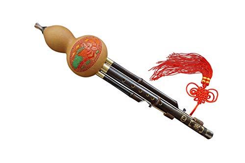 Bamboo 3 Octaves Chinese Hulusi Flute Woodwind