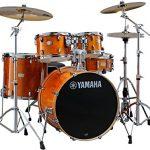 Yamaha Stage Custom Birch 5pc Drum Shell Pack – 22″ Kick, Honey Amber 2