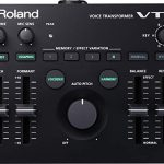 Roland VT-4 Voice Transformer Vocal Effects Processor Bundle with Blucoil 5-Ft MIDI Cable, 10-Ft Balanced XLR Cables (2-Pack), Cable Ties (5-Pack) and AA Batteries (4-Pack) 1