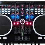 ADJ Products VMS5 is 6 channel stand alone Midi Controller with 2 Phono, 4 Line, 4 USB, 2 Mic inputs 1