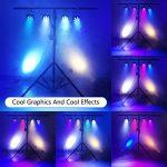 SHEHDS LED Par Light 7x18W Stage Lights 6 in 1 RGBWA UV Stage Lighting DMX Control Uplighting for Wedding, Party, Disco, Club, KTV, DJ Show 3