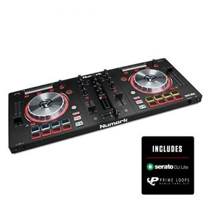 Numark Mixtrack Pro 3 | All In One 2 Deck DJ Controller for Serato DJ