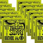 Ernie Ball 2221 Nickel Slinky Lime Guitar Strings – Buy 10, Get 2 Free