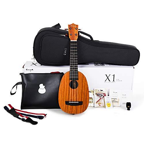 Enya Pineapple Soprano Ukulele 21 Inch Beginner Kit