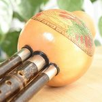 GAOD Hulusi Chinese Traditional Woodwind Flute Bamboo Anti-Fall for Adult Kids Including Chinese Knots Key of B Flat 2