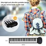 Portable Flexible Electronic 61-Key piano – ANDSF [2019 Upgraded Version ] double loudspeaker with Bluetooth microphone music keyboard piano built-in rechargeable battery for beginners gift 3