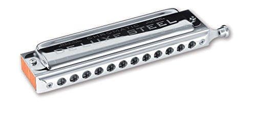 SEYDEL Chromatic DeLuxe Steel Solo Harmonica G