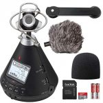 Zoom Virtual Reality Audio Recorder Microphone Bundle