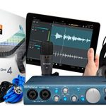 PreSonus AudioBox iTwo Studio Recording Kit with M7 Mic, HD7 Headphones, S1 Artist, Tripod Microphone Stand, Headphone with Studio One 4 Pro