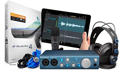 PreSonus AudioBox iTwo Studio Recording Kit with M7 Mic
