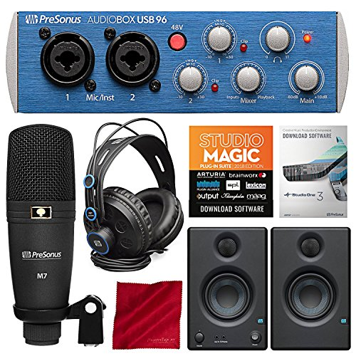 PreSonus AudioBox 96 Studio Plus Recording Kit with Studio One Software
