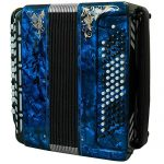 Brand NEW Russian Chromatic Button Accordion, Perfect Bayan for Beginner or Children / Kids, Tula Bn 41, 3 Rows, 80 Bass, Light Weight, Stradella 2