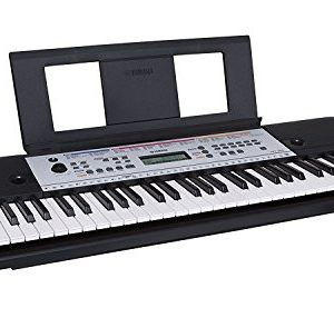 Yamaha 61-Key Portable Keyboard With Power Adapter