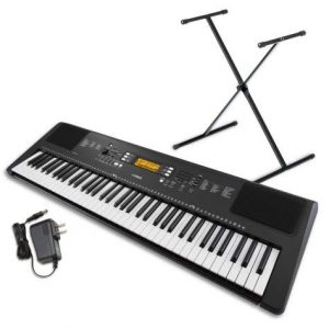 Yamaha 76-Key Portable Keyboard Bundle With Stand And Power Supply