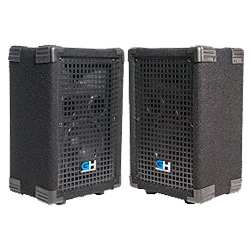 Grindhouse Speakers - Pair of Passive 6 Inch 2-Way PA/DJ Loudspeaker Cabinets