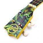 CLOUDMUSIC Ukulele Soprano Pineapple Ukulele Kit With Pineapple Ukulele Gig Bag Ukulele Picks Aquila Educational Strings Color Strings 2