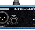 TC Helicon VoiceLive Play Vocal Effects Pedal Bundle with 12V 400mA DC Power Supply, Samson R21S Cardioid Dynamic Microphone, Blucoil 10-FT Balanced XLR Cable, Pop Filter Windscreen, and 5x Cable Ties 2