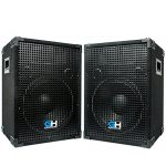 Grindhouse Speakers - Pair of Passive 12 Inch 2-Way PA/DJ Loudspeaker Cabinets