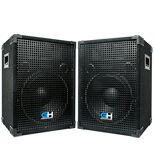 Grindhouse Speakers - Pair of Passive 12 Inch 2-Way PA/DJ Loudspeaker Cabinets