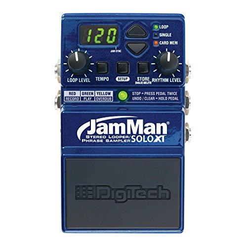 Digitech Jamman Solo XT Stereo Looper Phrase Sampler Pedal