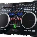 ADJ Products VMS5 is 6 channel stand alone Midi Controller with 2 Phono, 4 Line, 4 USB, 2 Mic inputs 2