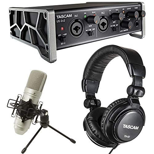 Tascam Trackpack 2x2 Complete Recording Studio Package