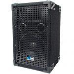 Grindhouse Speakers – GH8L – Passive 8 Inch 2-Way PA/DJ Loudspeaker Cabinet  – 500 Watt Full Range PA/DJ Band Live Sound Speaker 2